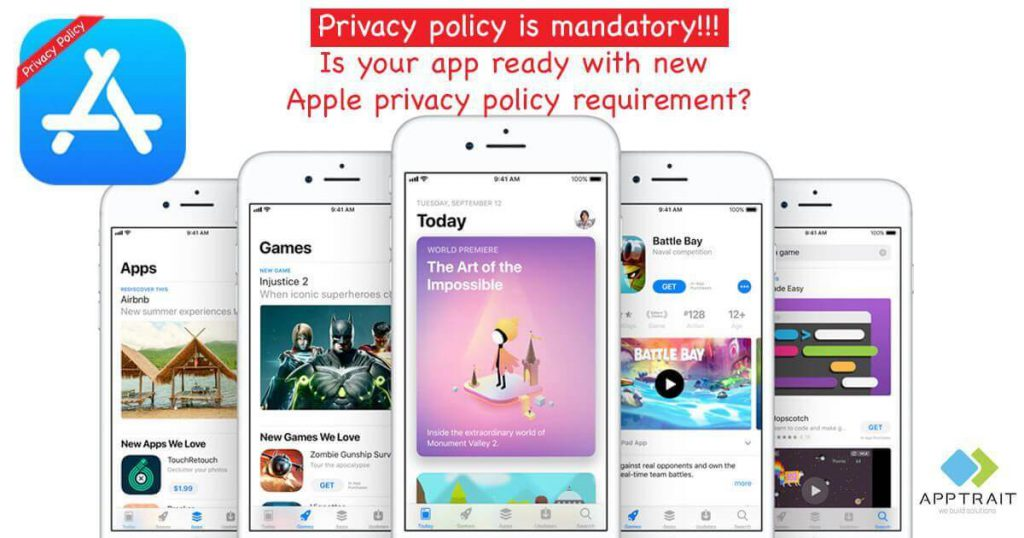 apple makes privacy policy mandatory