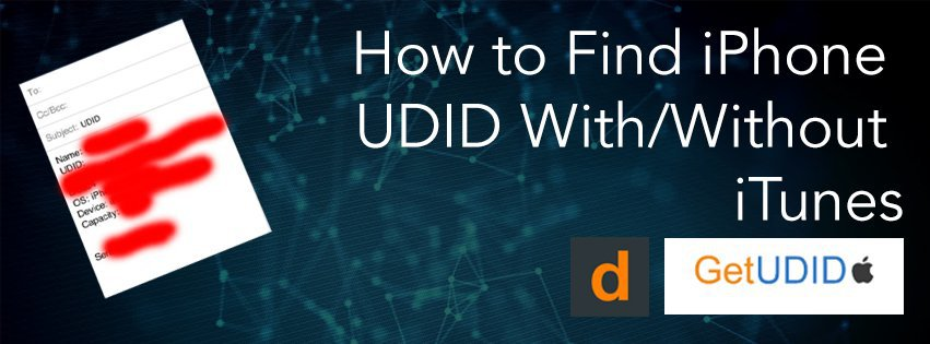 Find You iPhone UDID Number & Methods To Find Your UDID Number
