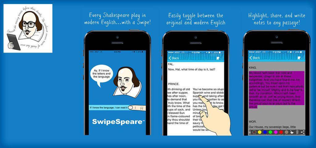 SwipeSpeare – Modern Shakespeare