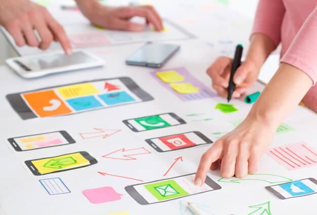 mobile app design, mobile app designer for hire, ui ux design, ux developer
